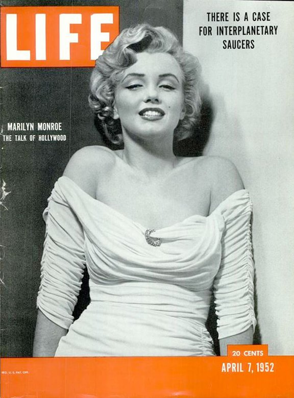 Marilyn Monroe on LIFE Magazine Covers, 1952-1962 (1)