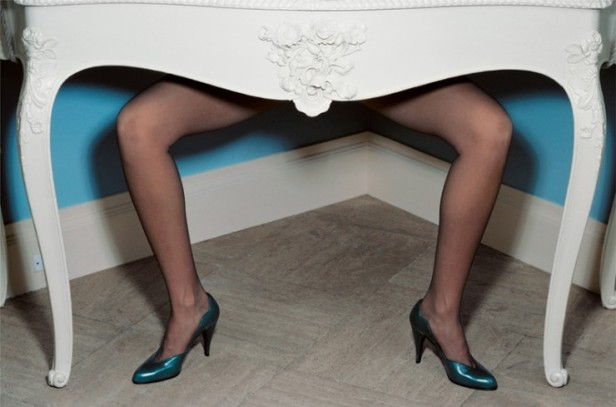 guy-bourdin-fashion-photography-charles-jourdan-ad-blue-shoes-table-740x490