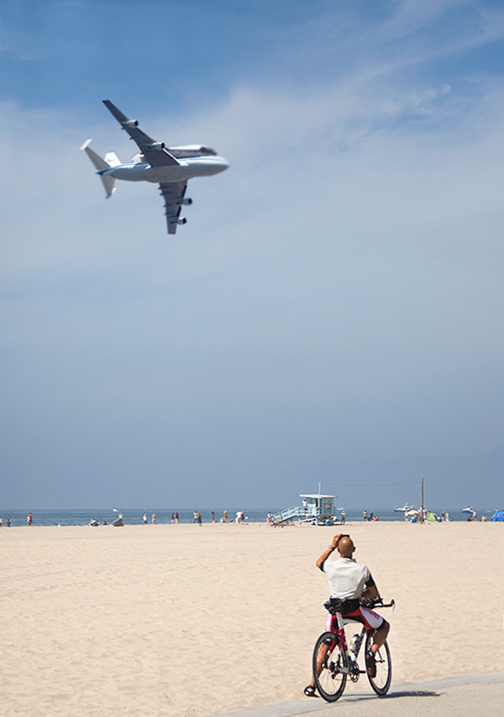 Space Shuttle Venice Beach Flyover
