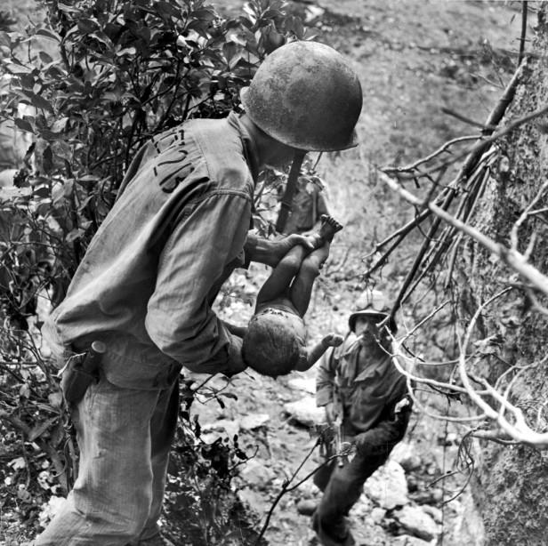 Marines Rescue Infant