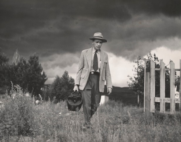 w eugene Smith W Eugeune Dr Ceriani Going from House to Hospital Country Doctor 1948 C The Heirs of W Eugene Smith courtesy Black Star