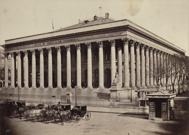 Ädouard Baldus: Le Bourse, Paris