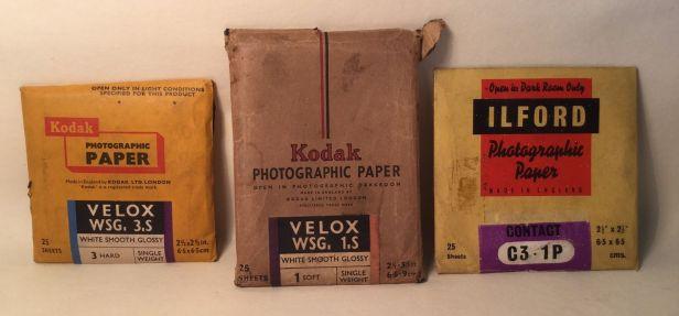 Kodak-Ilford-Photographic-Paper-X3-Vintage-Photography-Darkroom