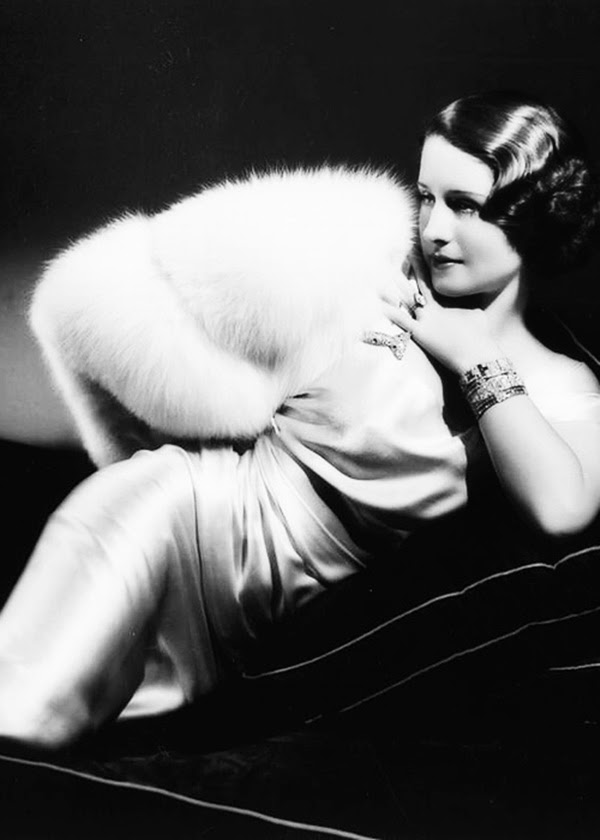 Norma Shearer photographed by George Hurrell