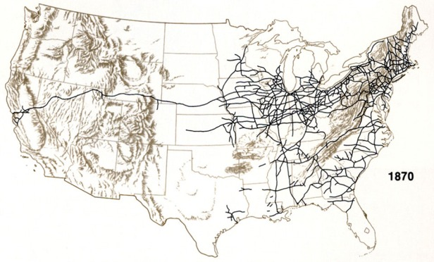 1870 US Railroads