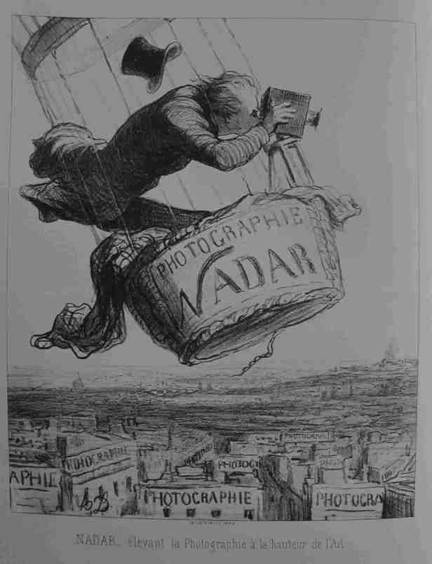 Honoré_Daumier_NADAR_nad_Parizi_1853
