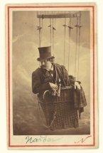 Nadar-Portrait-Felix-Nadar-in-Gondola-of-Balloon