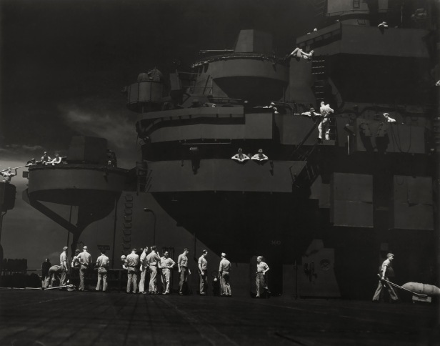 Getting Set for the Big Strike on Kwajalein, 1943
