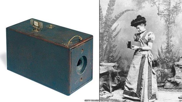 kodak camera and photo