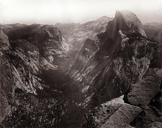Carleton_Watkins_Half_Dome_Yosemite_Valley_California_ca._1865