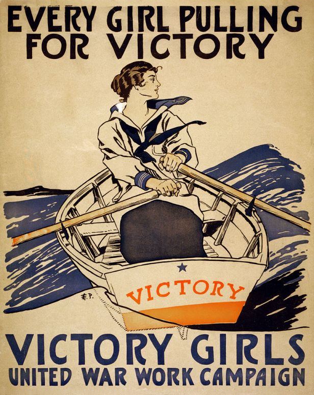 812px-Every_girl_pulling_for_victory,_WWI_poster,_1918