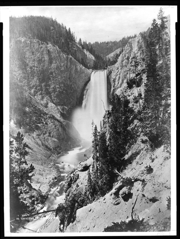 1871-Photo-of-Lower-Yellowstone-Falls-by-William-Henry-Jackson