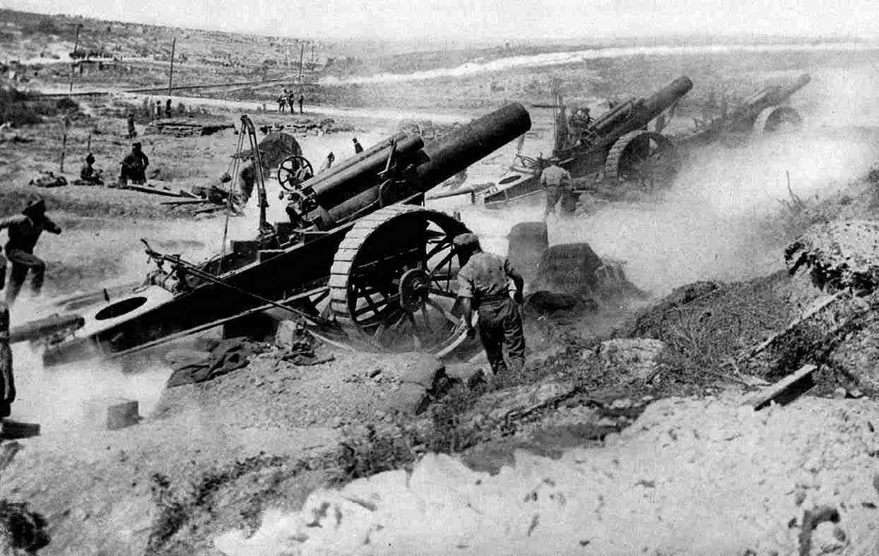 british heavy artillery - First World War - Deutschland und die Ostmark - Peter Crawford