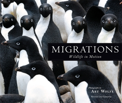 Migrations Inspired by the imaginative spatial designs of Dutch artist M.C. Escher, photographer Art Wolfe traveled the globe in search of similar patterns in nature. The result is a book of remarkable wildlife images that captures both the beauty and the poignancy of animals on the move. Hardcover: 168 pages Publisher: Earth Aware Editions (April 5, 2016) Language: English ISBN-10: 1608877140 ISBN-13: 978-1608877140 Product Dimensions: 11 x 9.2 inches