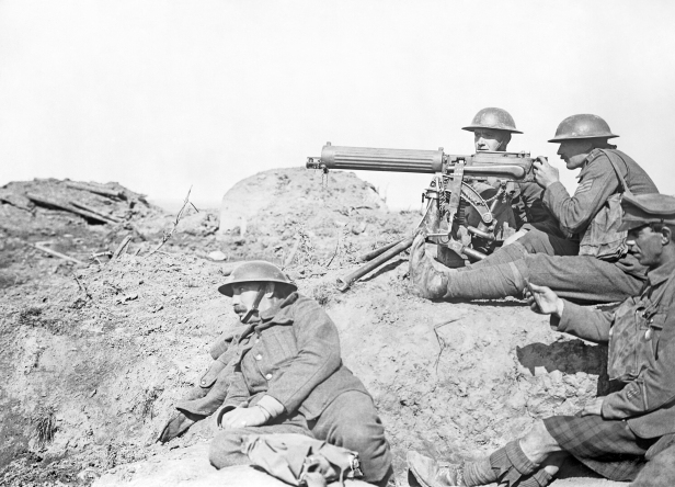 Vickers_machine_gun_in_the_Battle_of_Passchendaele_-_September_1917