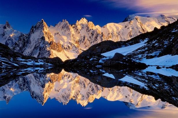 Les Aiguilles and Lac Blanc Savoy Alps, France