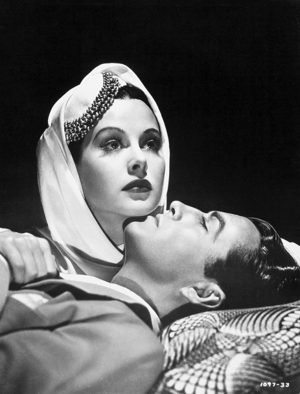 Hedy Lamarr and Robert Taylor