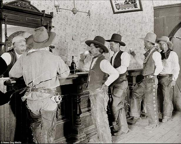 cowboys at bar