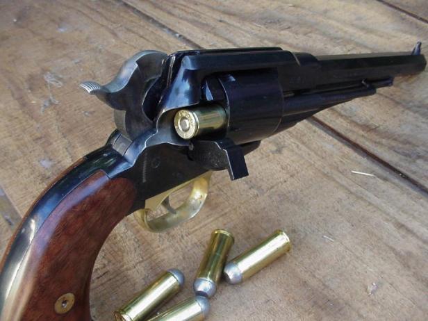 Loading revolver