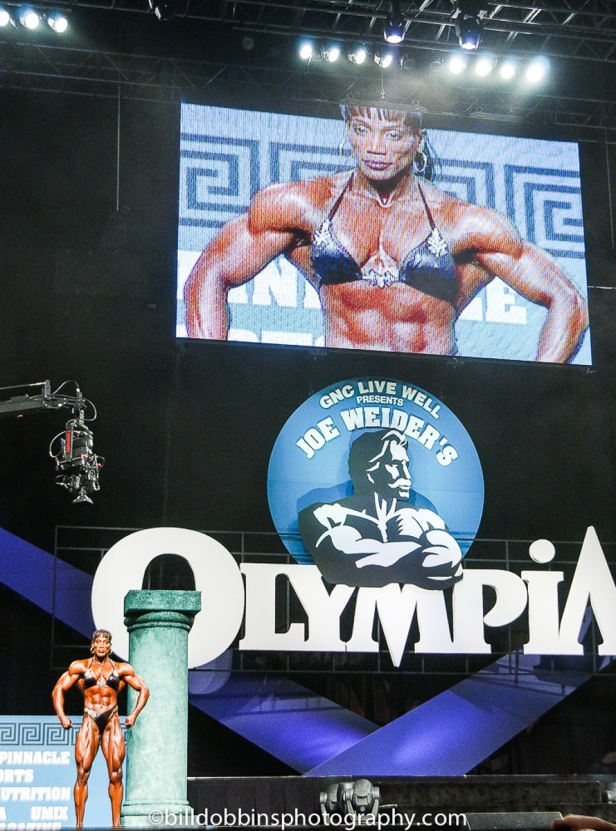 Lenda Murray OLympia Stage-