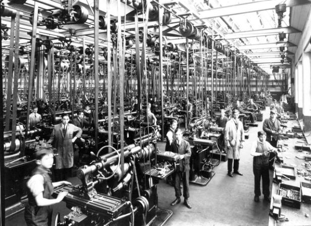 Machine Shop in 1928