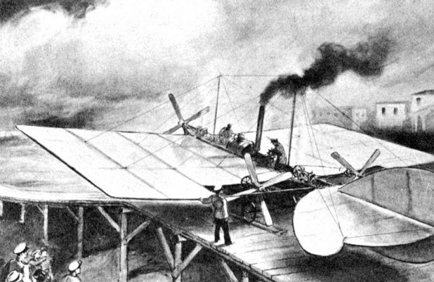Steam Powered Plane